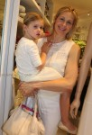 Kelly Rutherford with daughter Helena summer 2014