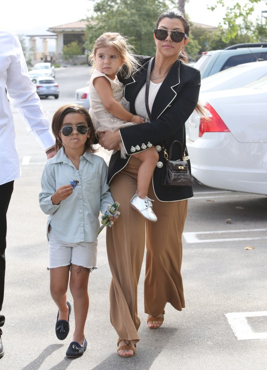 Kanye, Kim, North & Family Attend Church On Easter Sunday