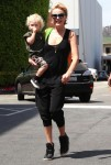 Malin Akerman and her son Sebastian attend The Safe Kids Day in Los Angeles