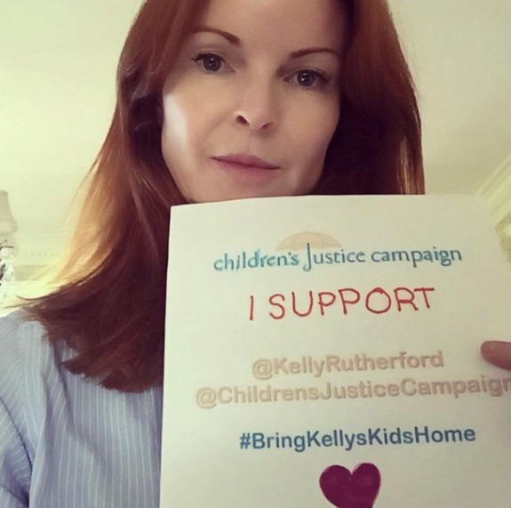 Marcia Cross supports Kelly Rutherford