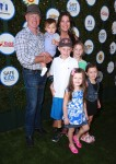 Neal McDonough with kids Morgan, James, London, Catherine and Clover at The Safe Kids Day in Los Angeles