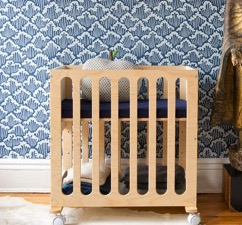 Oeuf Debuts The Fawn Crib & Bassinet