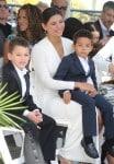 Paloma Jimenez with son Vincent Sinclair