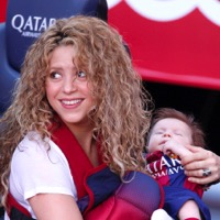 Shakira and Her Boys Support Dad Gerard from The Sidelines!