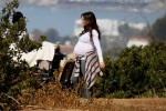 Very Pregnant Jennifer Love Hewitt out for a stroll with her daughter Autumn in LA