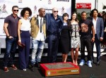 Vin Diesel with Fast 7 cast at Hand print and Foot print Ceremony