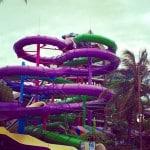 Water slide Aquaventuras Park in Puerto Vallarta