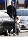 Ben Affleck Takes Samuel To Breakfast