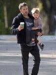 Ben Affleck Takes Samuel To Breakfast