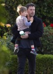 Ben Affleck Takes Son Samuel To Breakfast