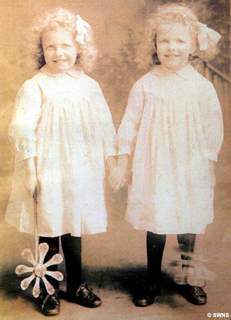 Betty Richards and Jenny Pelmore.