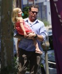 Dean McDermott out in LA with daughter Hattie