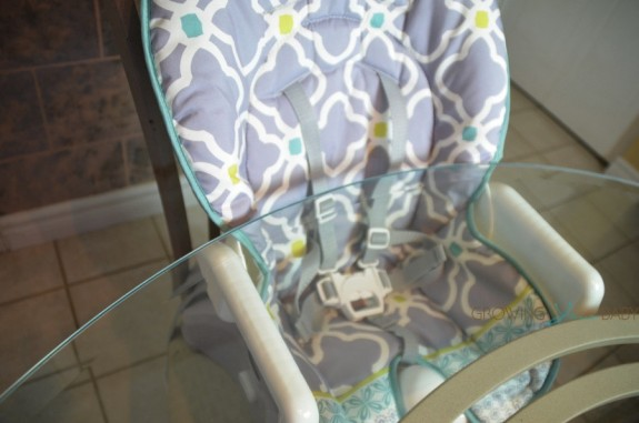 Fisher-Price Space Saver High Chair - under the table