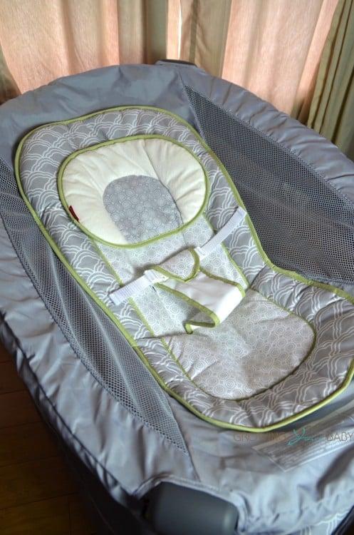 Fisher-Price Ultra-Lite Day & Night Play Yard - sleeper