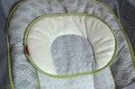 Fisher-Price Ultra-Lite Day & Night Play Yard - sleeper headrest