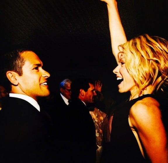 Kelly ripa and Mark Consuelos celebrate their 19th anniversary