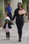 Kourtney Kardashian heads to dance class with daughter Penelope