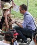Neil Patrick Harris out with daughter  Harper in NYC
