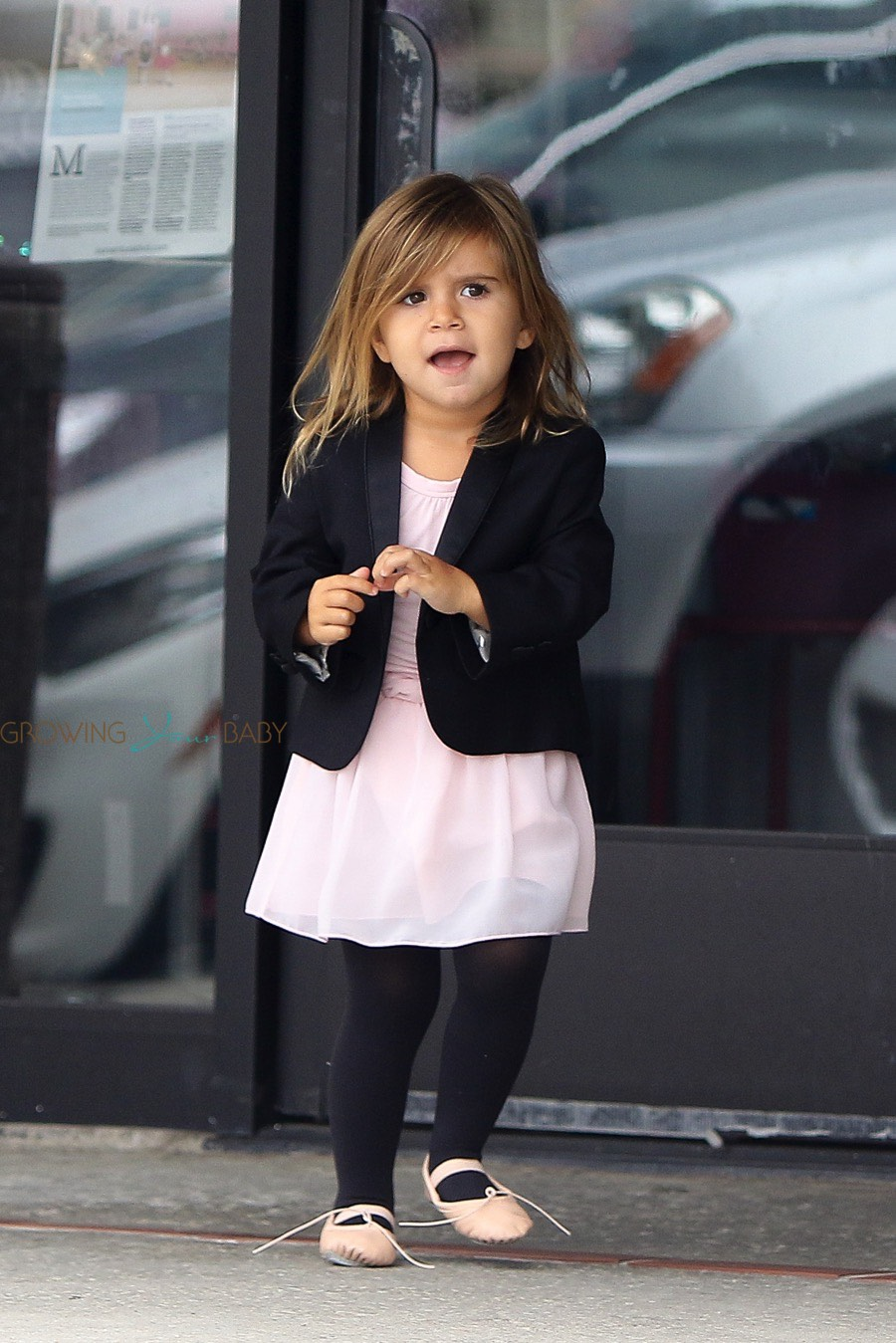 Penelope Disick At Dance Class With Cousin North Growing