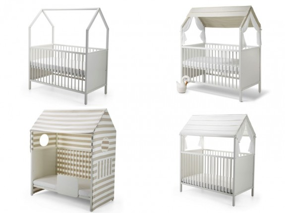 Stokke Home flexible newborn system crib