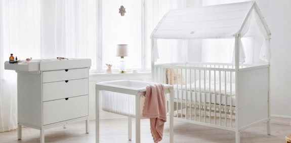 Stokke Home flexible newborn system - infant nursery