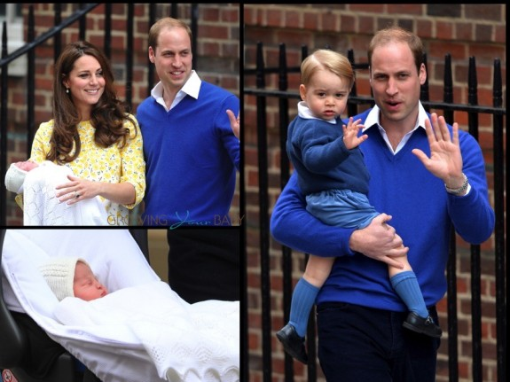 The duke and duchess of cambridge debut their princess!