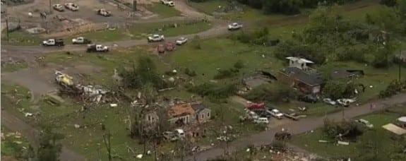 Van Texas Tornado
