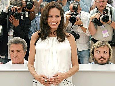 Angelina Talks Sex During Pregnancy