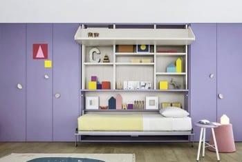 Battistella Room 01 - bed open
