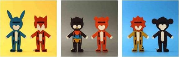 Bleebla Woodla lacing toys - collection