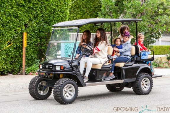 Camila Alves Shuttles Her Kids From A Birthday Party!