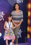 Constance Marie attends Inside Out Premiere with her daughter Luna