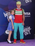 FLEA attends Inside Out Premiere with his daughter Sunny Bebop Balzary