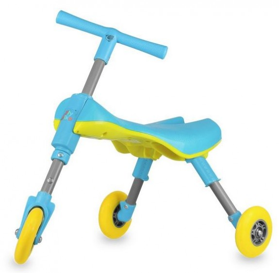 Fly Bike® Foldable Indoor:Outdoor Toddlers Glide Tricycle