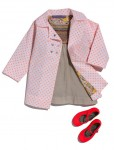 Harper Beckham's Alfie & Tuesday Jacket and Bonpoint shirt and shoes