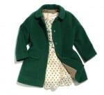 Harper Beckham's Carmel Baby Jacket and Chloe dress