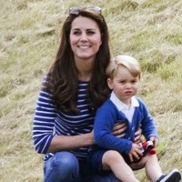 Kate and Prince George Watch Prince William Play In A Charity Polo Match