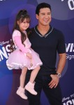 Mario Lopez attends Inside Out Premiere with his daughter Gia