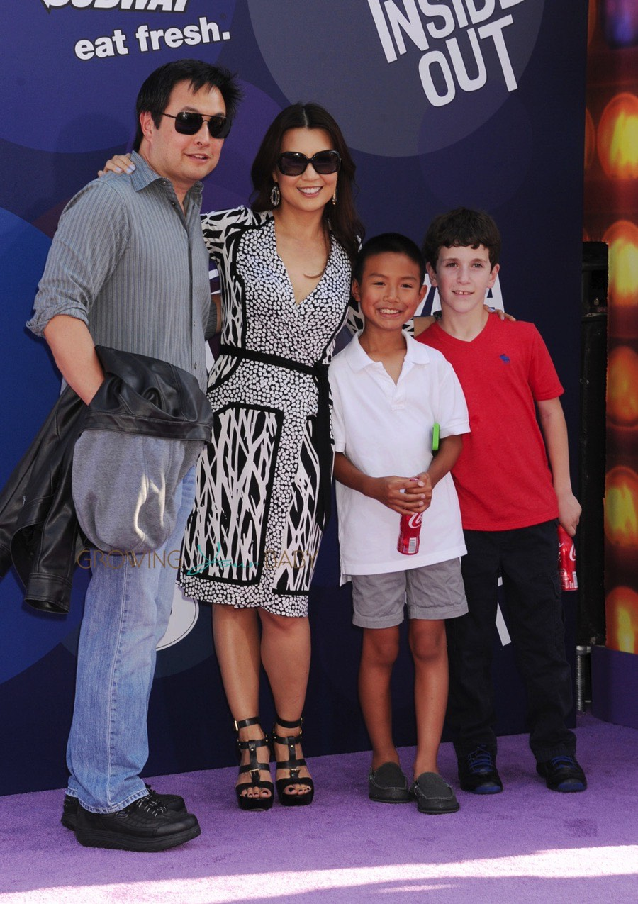 Ming Na Wen Attends The Premiere Of Inside Out With