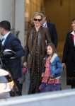 Nicole Kidman & Daughters Sunday Rose and Faith Arrive In Sydney