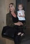 Petra Ecclestone with daughter Lavinia at Kai restaurant in Mayfair