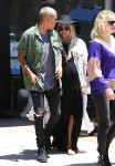 Pregnant Ashlee Simpson and Evan Ross out in LA