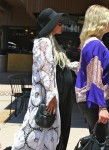 Pregnant Ashlee Simpson out in LA