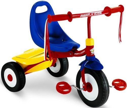 Radio Flyer's Fold 2 Go Tricycle