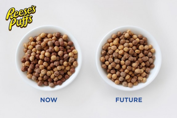 Reeses-Puffs now and in the future