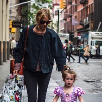 Sienna Steps Out In NYC With Her Princess!