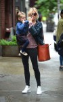 Sienna Miller with daughter Marlowe Sturridge in NYC