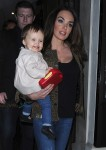 Tamara Ecclestone with daughter Sophia at Kai restaurant in Mayfair