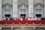The Queen attends Trooping the Colour, accompanied by other senior Royals, at Horse Guards Parade