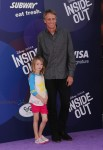 Tony Hawk attends Inside Out Premiere with his daughter Kadence